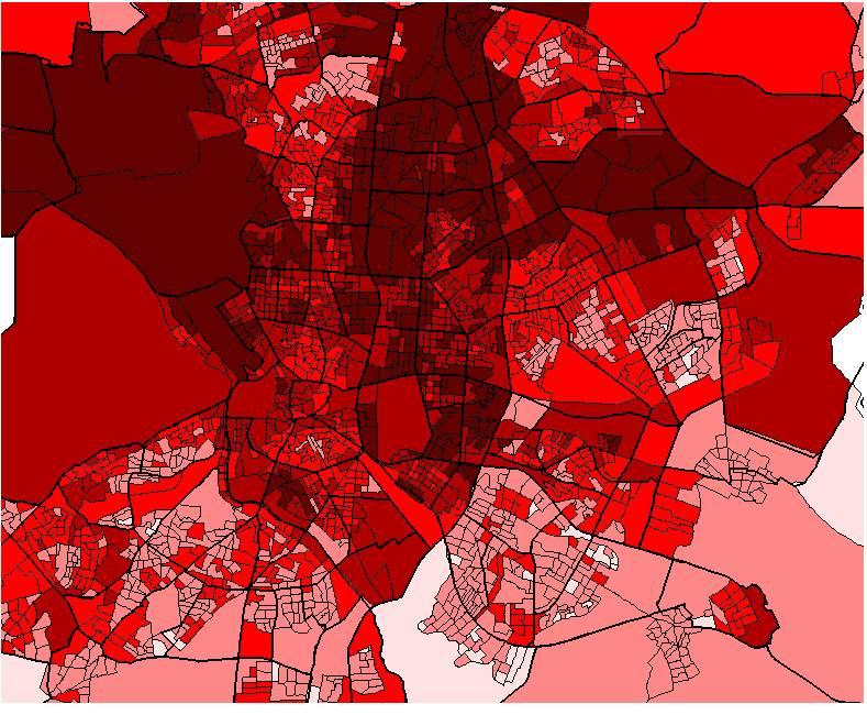 Mapa Socioeconómico Madrid 2001